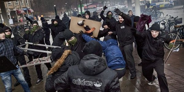 CLASHES IN STOCKHOLM